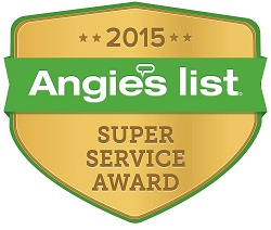 72 Degrees 2015 Angies List Super Service Award logo